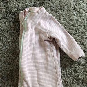 Pink baby sleep sack